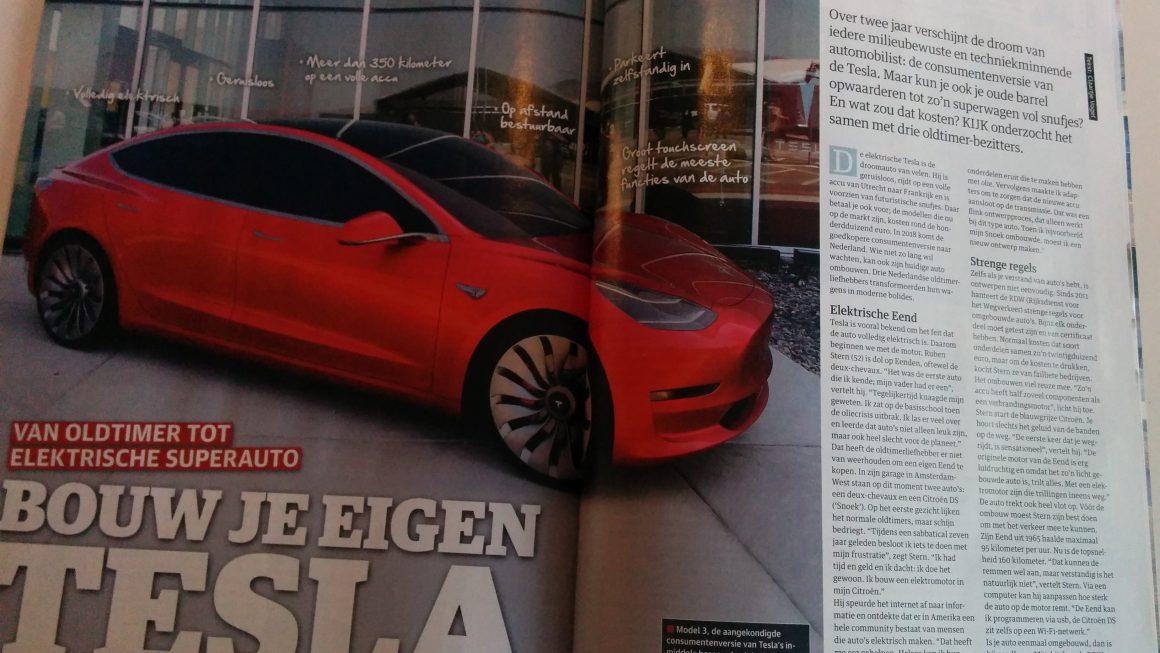 KIJK: Van oldtimer naar Tesla