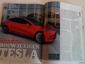 Bouw je eigen Tesla pagina 1-2
